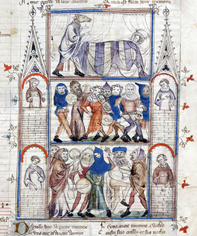 Шаривари для молодожёнов илл. из Романа о Фовеле.jpg